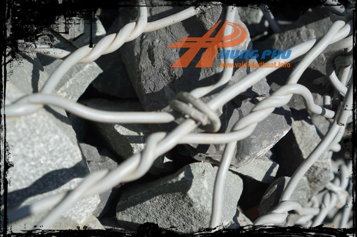 Rọ đá mạ kẽm bọc nhựa PVC