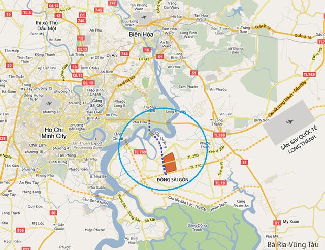 Bản đồ vị trí xây dựng
