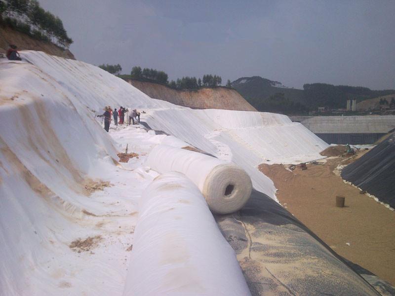 Vải địa kỹ thuật ART9 ứng dụng cho nông nghiệp và Thủy lợi.